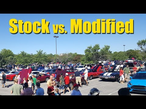 Stock vs. Modified - Which has more value?