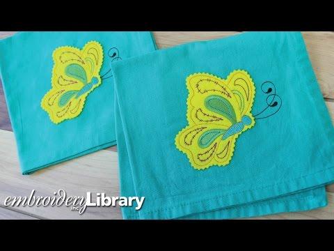 Machine Embroidery, Crafty Cut Applique