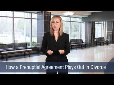 Michael S. O'Connor,  Attorney at Law - How a Prenuptial Agreement Plays Out in Divorce