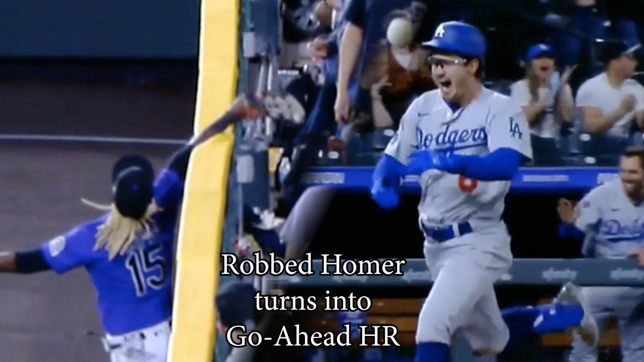 Robbed Home Run turns into go-ahead inside-the-park-homer, a breakdown