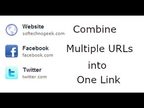 How Share Multiple URLs with Just One Link & Shorten the URL