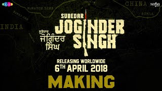 Subedar Joginder Singh - Making | Gippy Grewal | War Scenes | New Punjabi Movie 2018