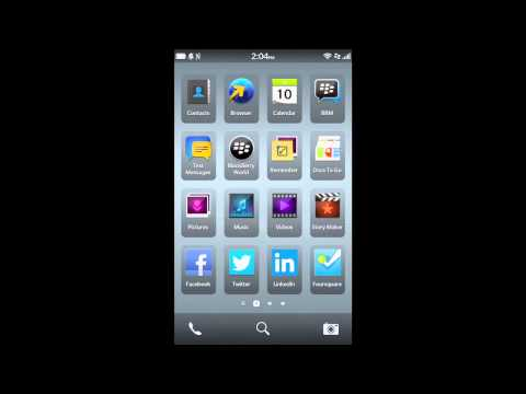 How to setup Network Connections on a BlackBerry 10 smartphone