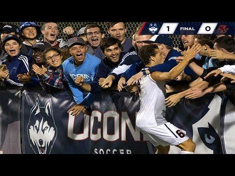 UConn Men's Soccer vs. Boston College Highlights