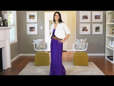 How to Wear a Maxi Dress || KIN STYLE