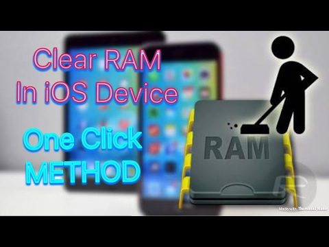How To Clear RAM On iPhone/iPad 🤷🏻‍♂️ ? SIMPLE AND EASY METHOD