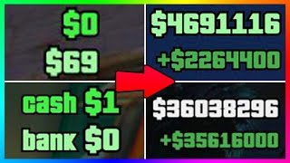 HOW YOU CAN BECOME A MILLIONAIRE IN GTA ONLINE IN ONE DAY - NEW GTA 5 DLC FAST & EASY MONEY MAKING!