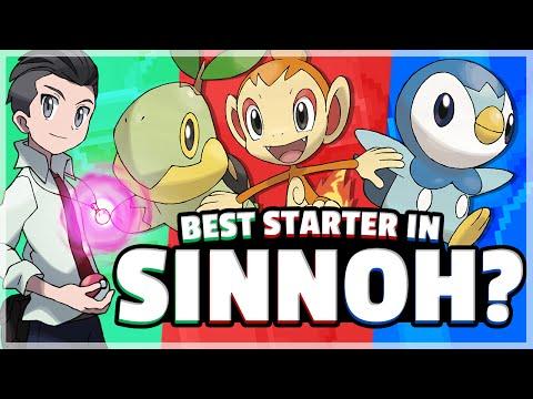 What Is The Best Starter Pokemon? (Sinnoh) Feat. Speqtor