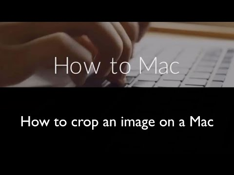 How to crop an image on a Mac