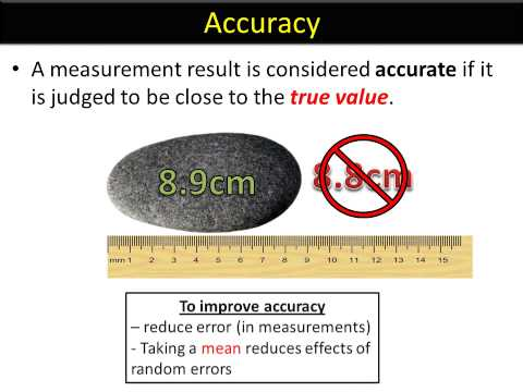 ISA language YOUTUBE 5 - Reliability and accuracy