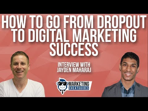 How To Go From Dropout To Digital Marketing Success Using FB Ads & Chatbots