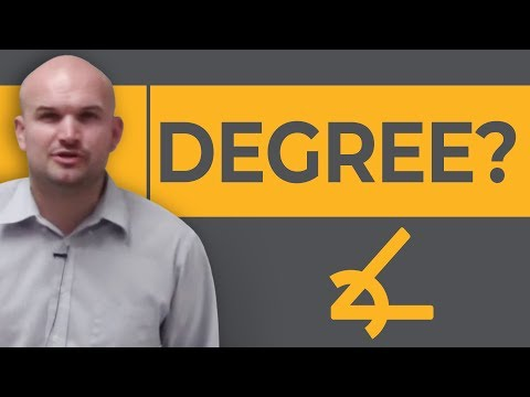Pre-Calculus - What is a a degree