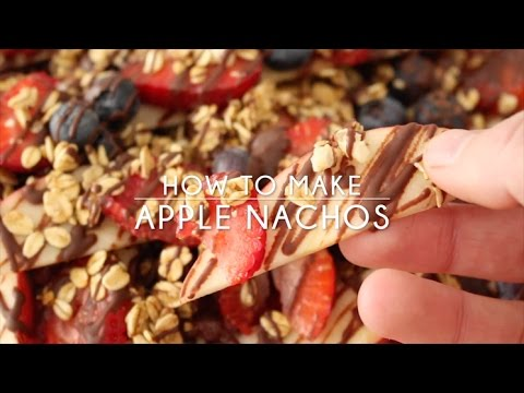 How to Make Loaded Apple Nachos