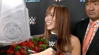Kairi Sane talks about her victory in the Mae Young Classic and shows respect to Shayna Baszler