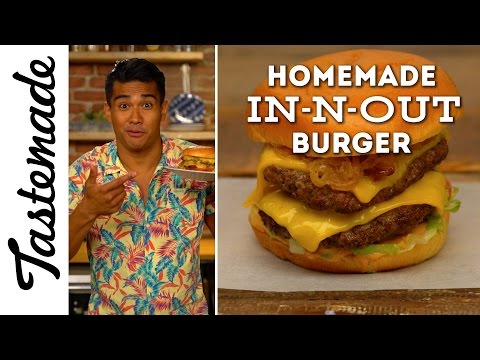 Homemade In-N-Out Burger | The Tastemakers-Jordan Andino