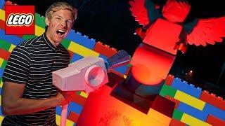Surviving Scary LEGO Graveyard Hotel! *LEGO HIDDEN SIDE CHALLENGE*