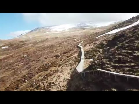 Is this the best enduro mtb trail in the world? top chief - mtb - scotland
