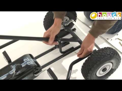 Setup  Instruction go cart Thunder by hauck toys for kids