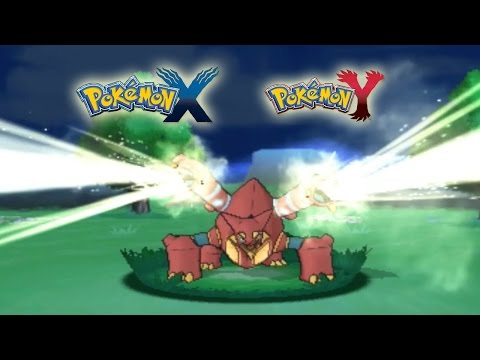 Pokemon X e Y - Volcanion ( Shiny - Power saves ) ITA Event HD