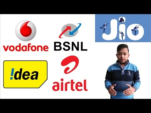 JIO vs BSNL vs AirTel vs Idea vs Vodafone   Best offers to select from!!