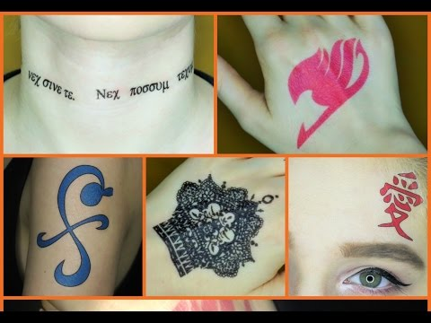 How to Make Temporary Tattoos for Cosplay
