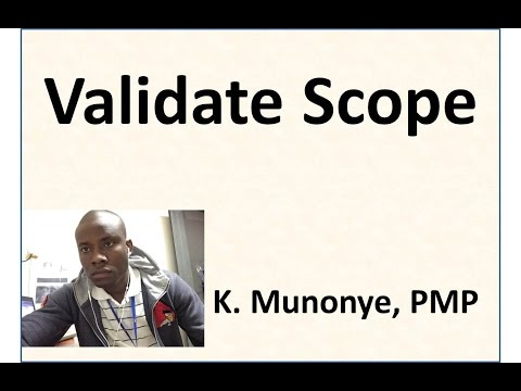 11 Project Scope Management   Validate Scope