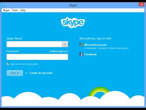 Remove username from skype login screen latest way(2016)