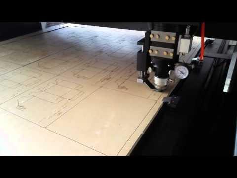 1000W Fiber Laser Cutting Machine Video IPG