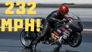 SHOCKING SPEED RECORD BY WORLD'S FASTEST PRO STREET BIKES - TURBO HAYABUSA, GSXR 1000 and CBR RACE!
