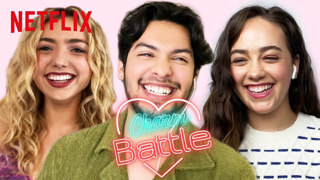 Who Is the Biggest Flirt in the Cobra Kai Cast | Charm Battle | Netflix