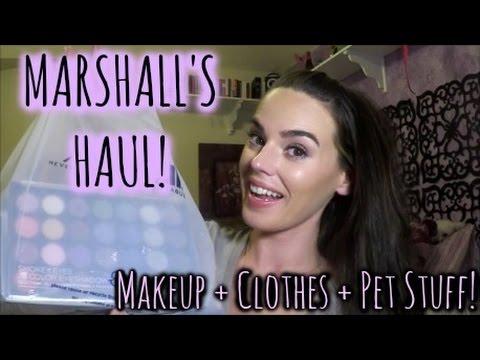 MARSHALL'S HAUL | BH Cosmetics + Dog & People Clothes!!