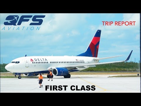 TRIP REPORT   Delta Airlines - 737 700 - Key West (EYW) to Atlanta (ATL)   First Class