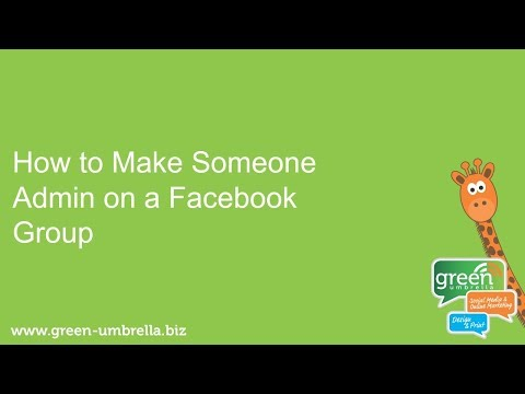 How to Make Someone Admin on a Facebook Group
