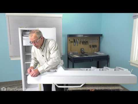 Refrigerator Repair - Replacing the Freezer Door Gasket (Whirlpool Part # wp10359709q)