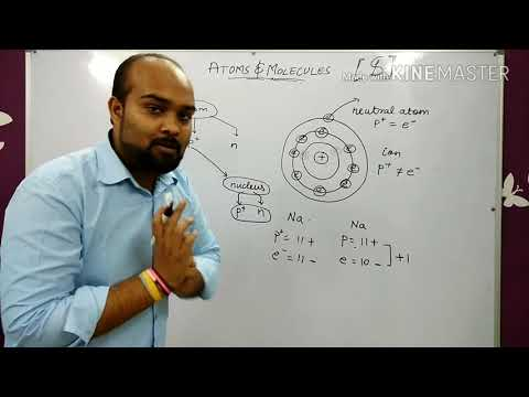 #38 Atoms and Molecules 3: how to calculate atomic number and mass number . The formation of ions