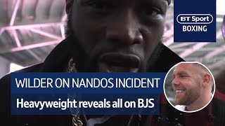 Deontay Wilder reveals what happened in Nandos with Billy Joe Saunders