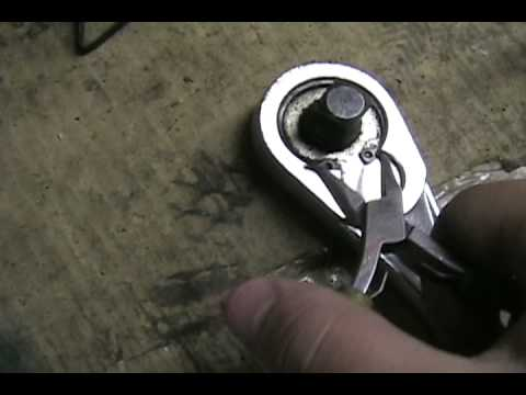 Inside Craftsman Ratchet Repair