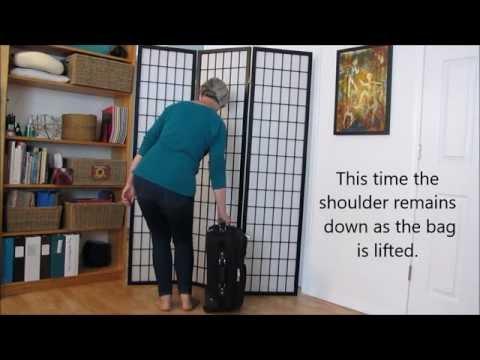 How to Lift a heavy bag off the floor using the Feldenkrais Method ®