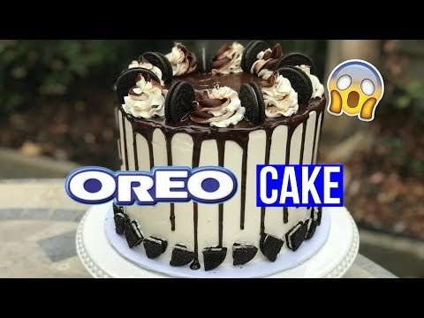 How to Make a OREO DRIP CAKE - Baking With Ryan Episode 54