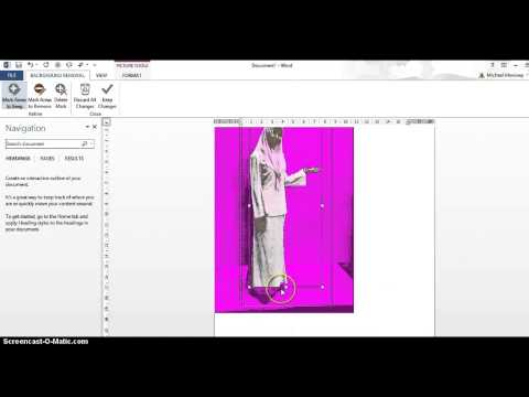Making an image background transparent