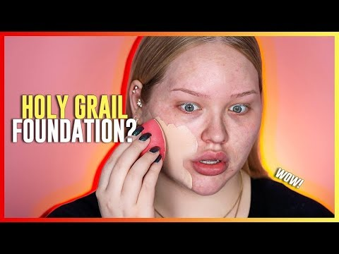 HOLY GRAIL FOUNDATION?? Huda Beauty Faux Filter Foundation REVIEW!