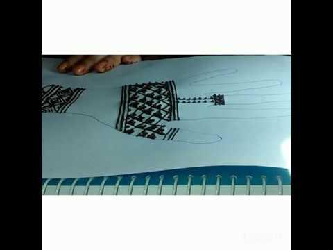 Henna design-2