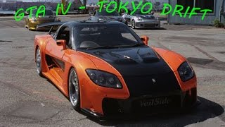 GTA IV - DRIFTING THE Fast and furious RX7 #1