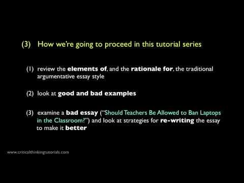 How to Write a Good Argumentative Essay: Introduction