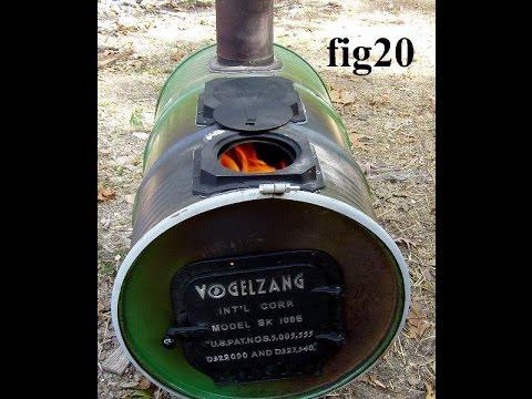 Ultimate Barrel Wood Stove