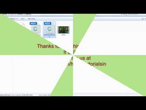 How to demux .ts video file - Tsmuxer tutorial