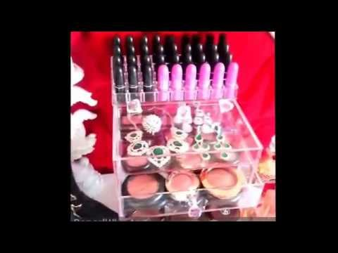 Our Quad Diamond by one of our lovely Costumers- acrylic makeup organizer-4 drawers and one with lid