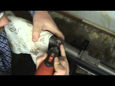 Mosin Nagant (fixing old scope holes)