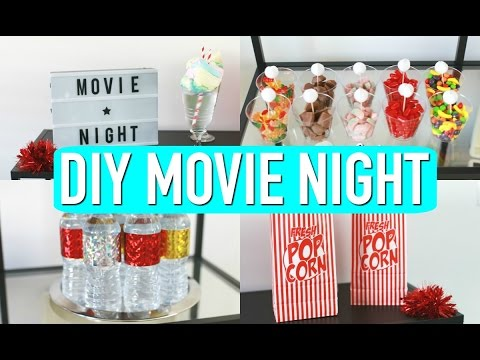 DIY Movie Night! Decor, Treats & More! 🎥 🍭