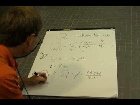 Physics II A1- Volume Flow Rate Part I